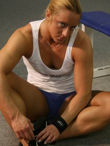 Meet Katka Kuptova - muscular fitness coach from Czech Republic.