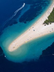 Zlatni Rat - Beautiful Beach in Croatia