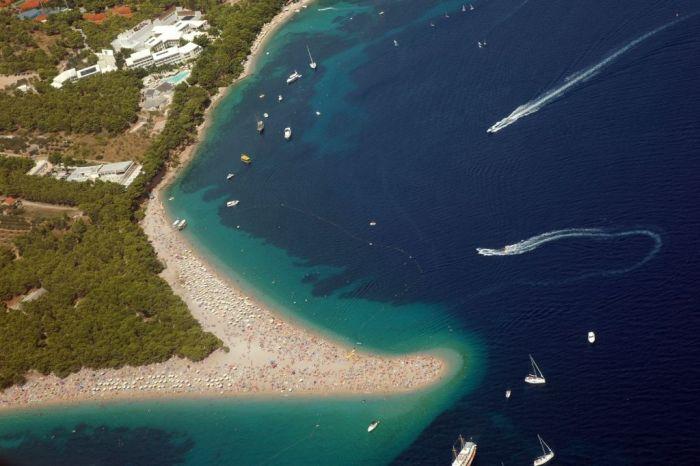 Zlatni Rat - Beautiful Beach in Croatia