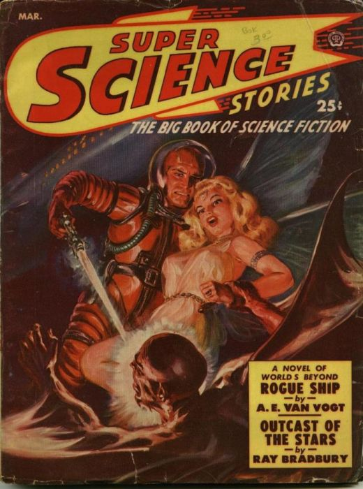 Vintage Covers of American Science Magazines