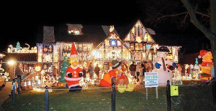 Christmas Decoration Abuse