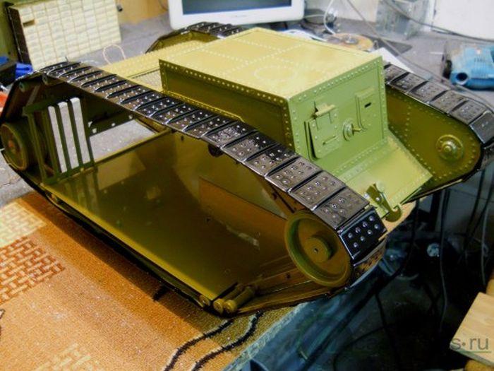 Tank PC Modding