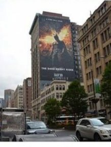 A Giant The Dark Knight Poster