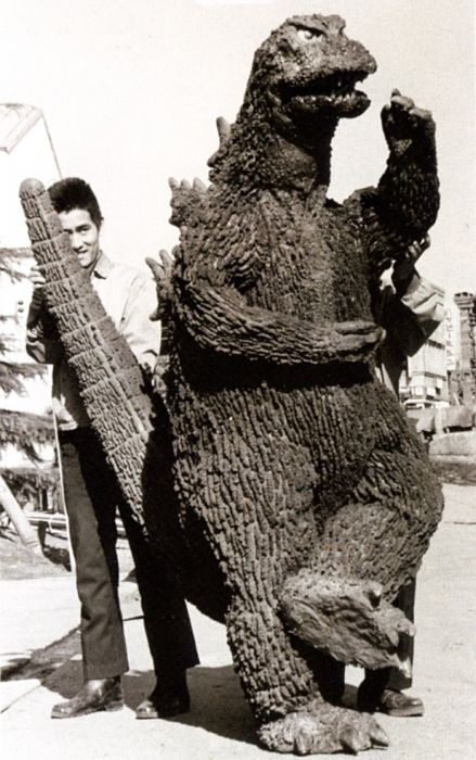 On the Set of Godzilla in 1954, part 1954