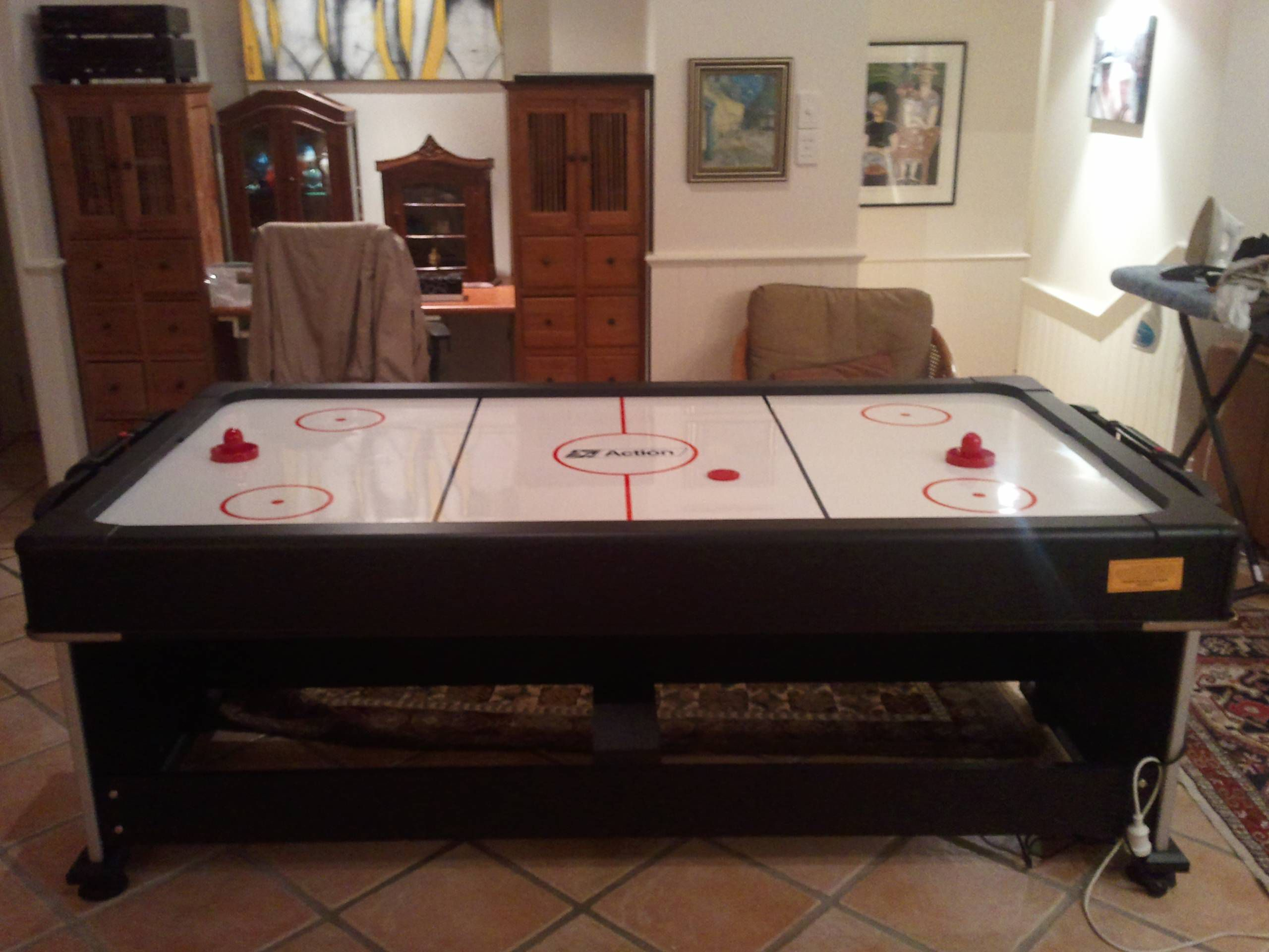 Pool Table with a Secret