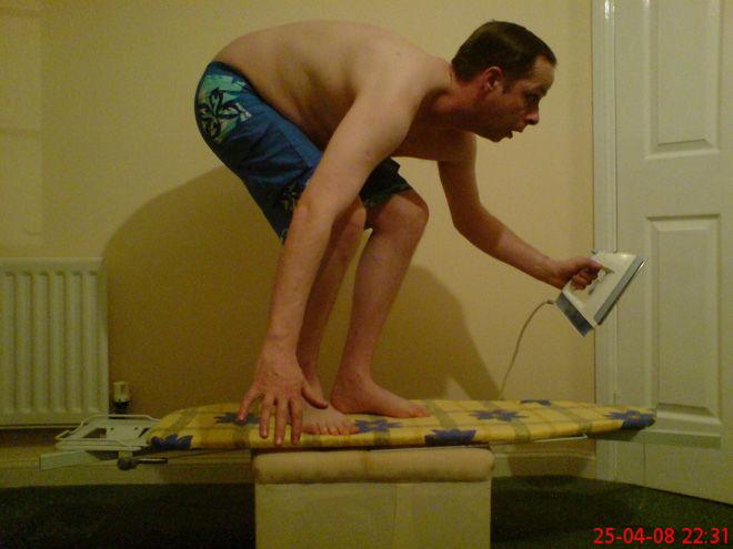 Ironing Gone Insane
