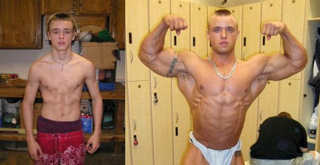 Bodybuilding – Before and After