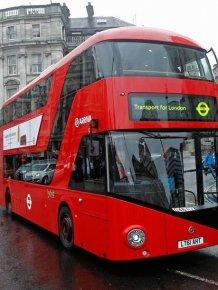 Double Decker Bus Artwork by David Cerny