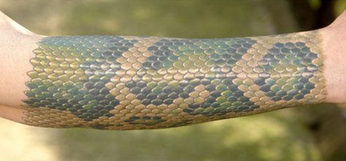 Snake Skin Tattoo