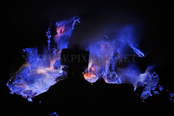 Kawah Ijen at Night