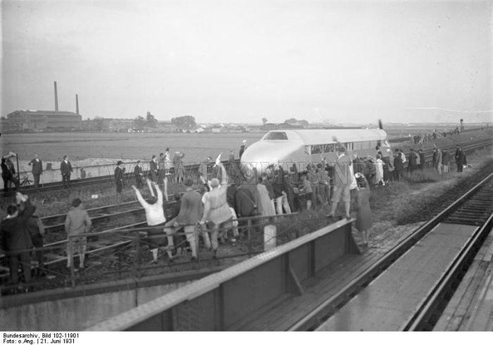 Amazing German Rail Zeppelin (Schienenzeppelin)