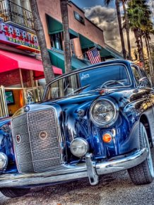 Retro vehicles - HDR