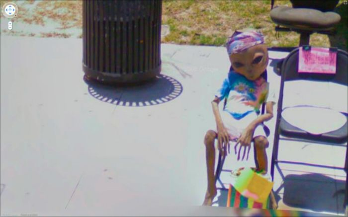 Interesting Things on Google Street View