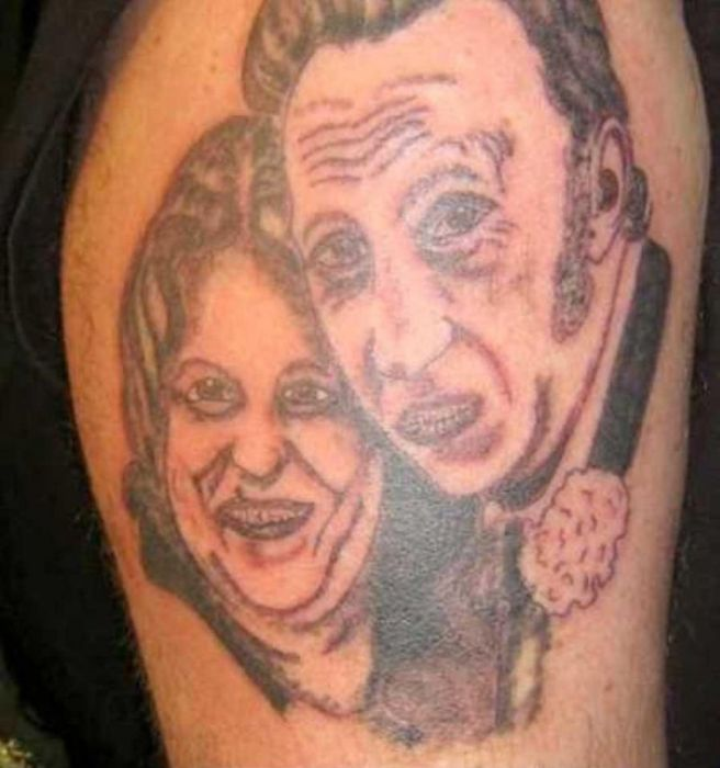 Ugly Tattoos