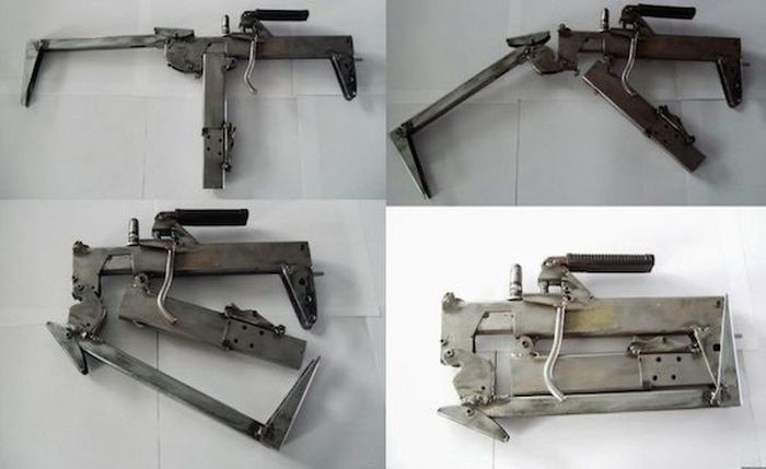 Self Made Weapons Used by Criminals