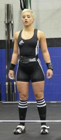 Samantha Wright - Probably the Prettiest Weightlifter in the World