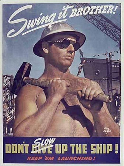 Weird propaganda posters