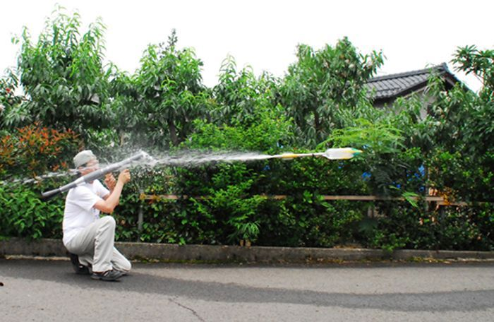 The Plastic Water Bottle Rocket Launcher