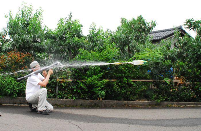 The Plastic Water Bottle Rocket Launcher