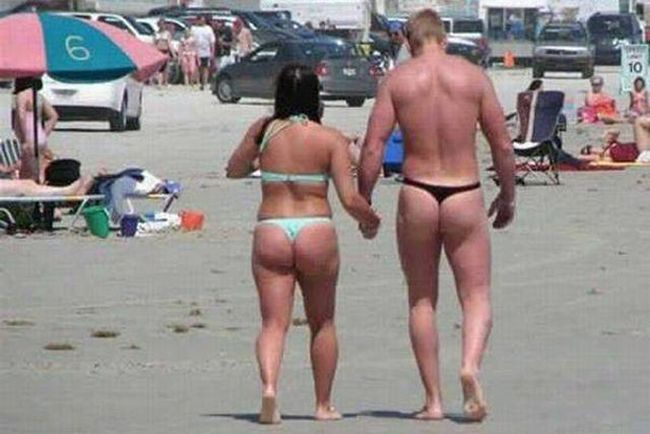 Awkward and Funny Beach Moments