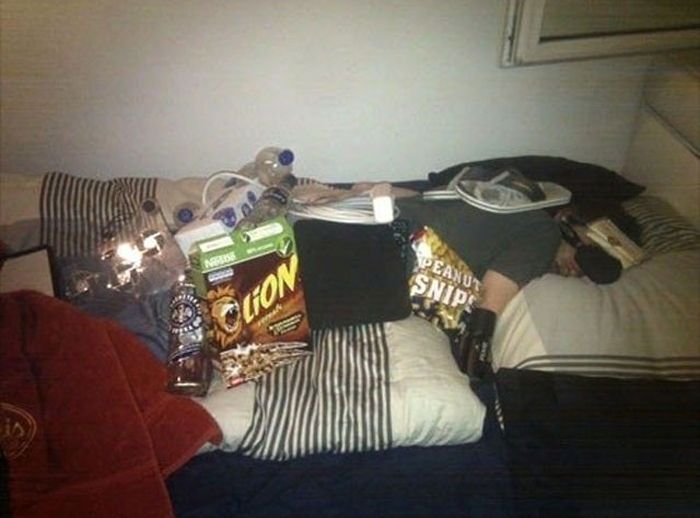 Don't Fall Asleep at the Parties