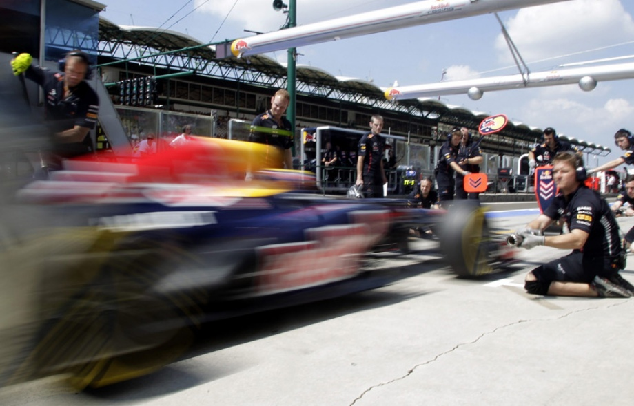 Behind The Scenes Of The F1 Hungarian Grand Prix Vehicles