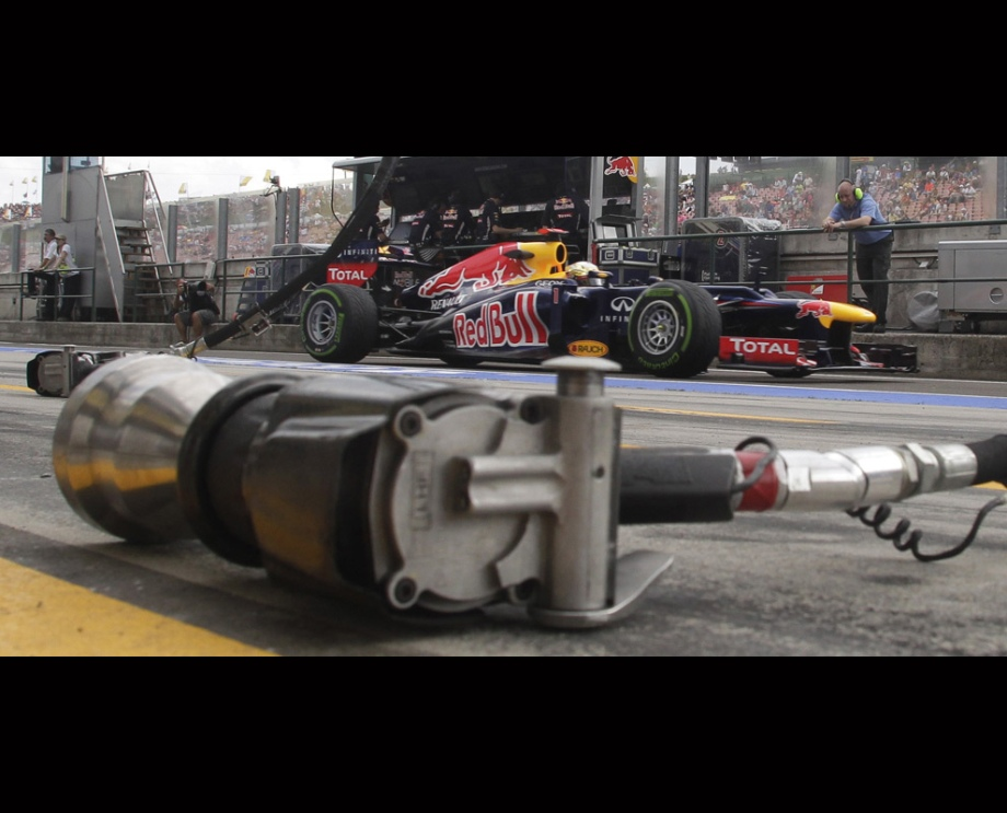 Behind the scenes of the F1 Hungarian Grand Prix