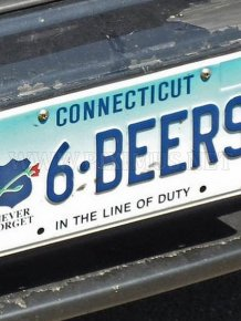License Plates That Scream Pull Me Over