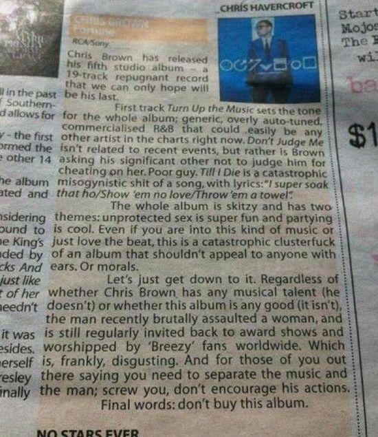 Chris Brown Album Review