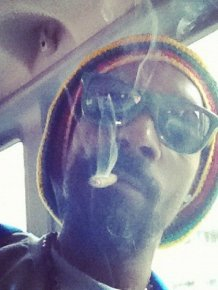 Snoop Dogg with Joint