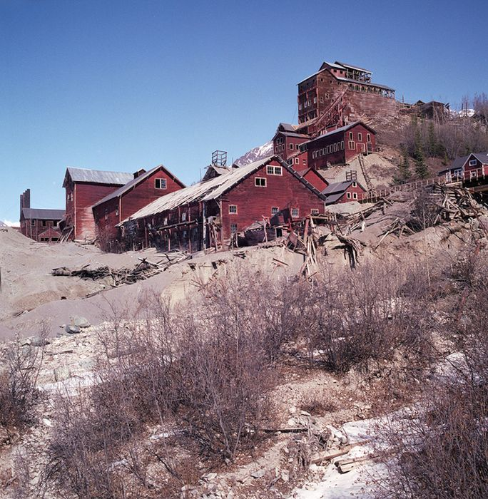 The Kennecott Mine Camp