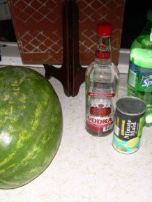 How to Make a Vodka Watermelon