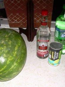 How to Make a Vodka Watermelon