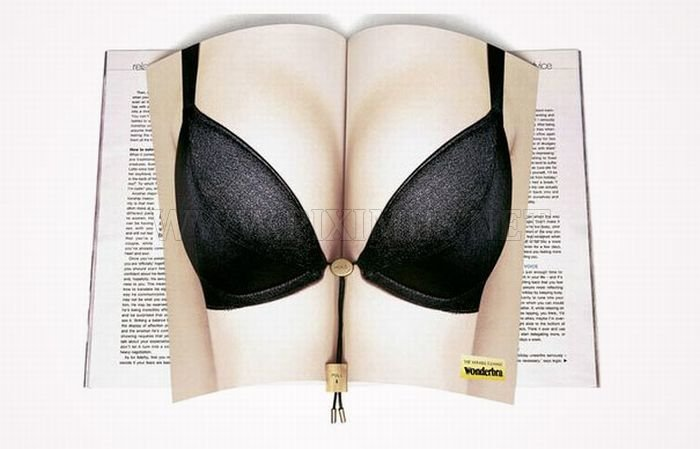 Creative Double Page Magazine Ads