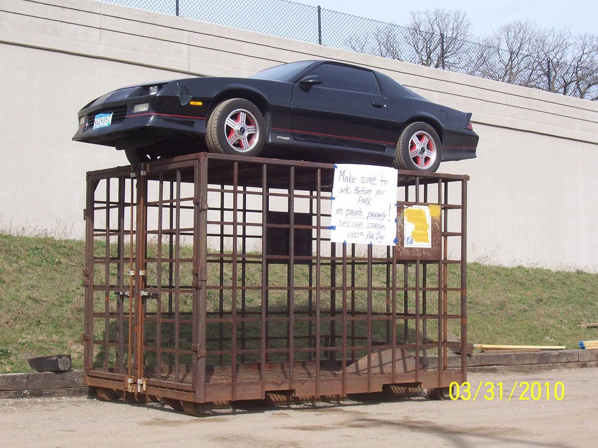 Revenge for Illegal Parking