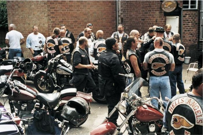 Hells Angels in the Past