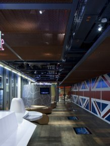 Google office in London from the design studio PENSON