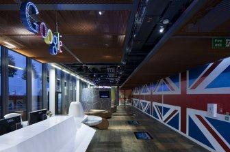 Google office in London from the design studio PENSON