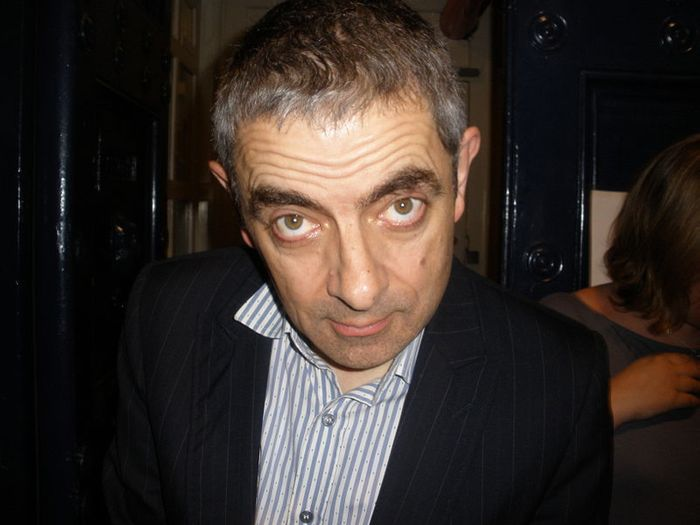 Rowan Atkinson Then and Now
