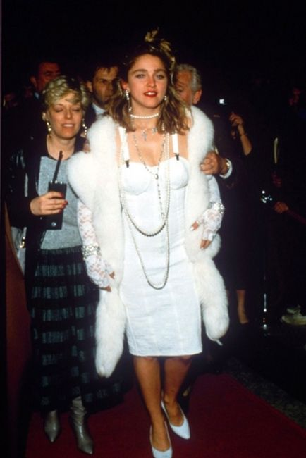 Madonna Then and Now