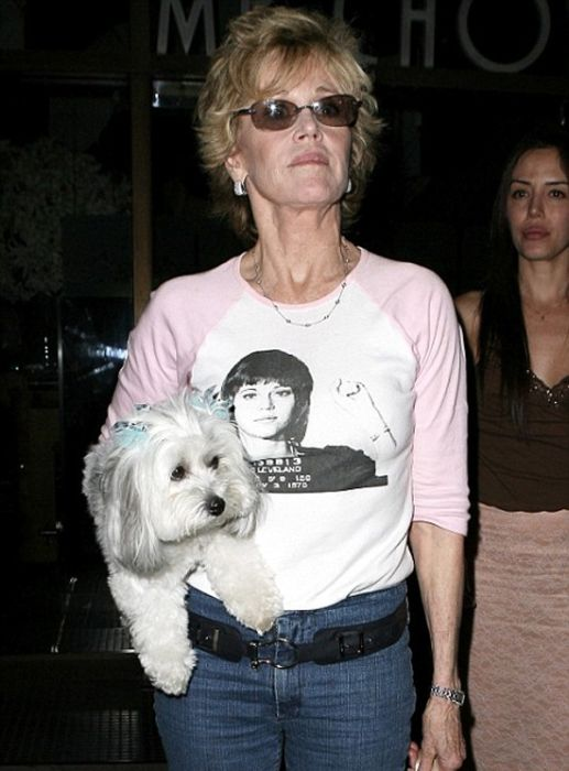 Celebrities Wearing Celebrity T-shirts