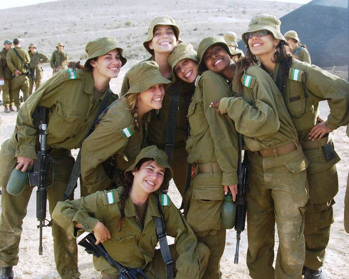 Girls of Israel Army Forces, part 2