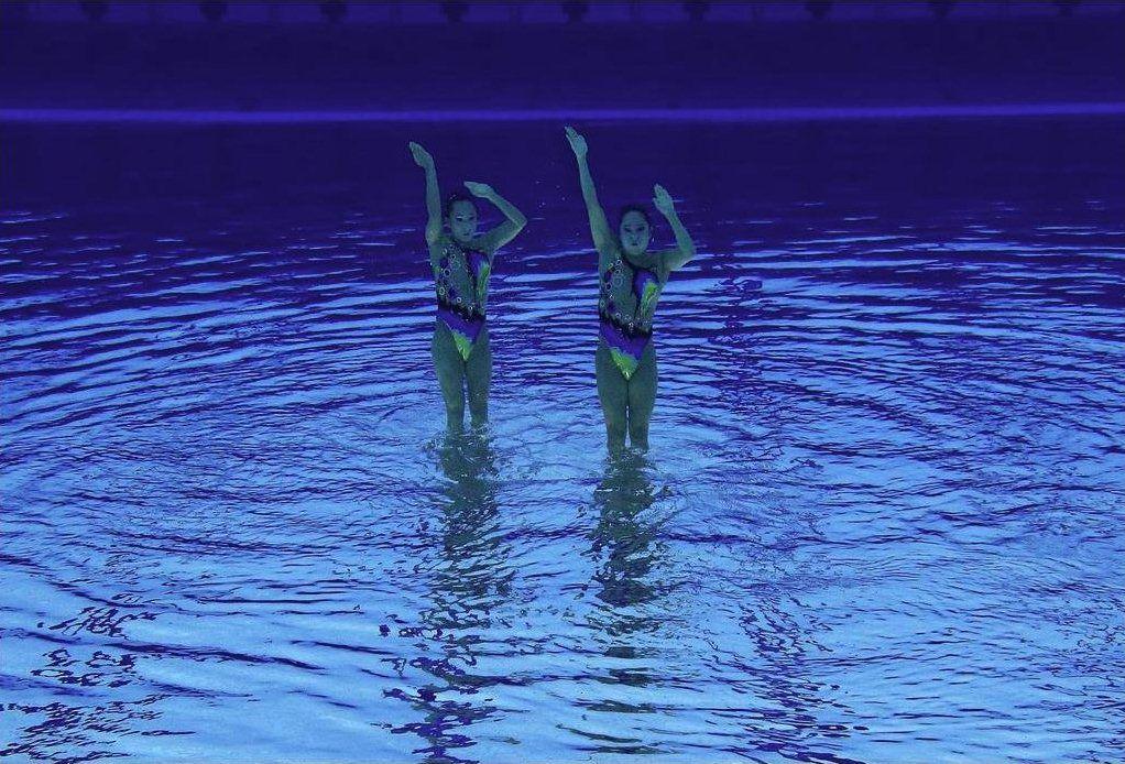 신선한 각도에서 보면 Syncronized 수영