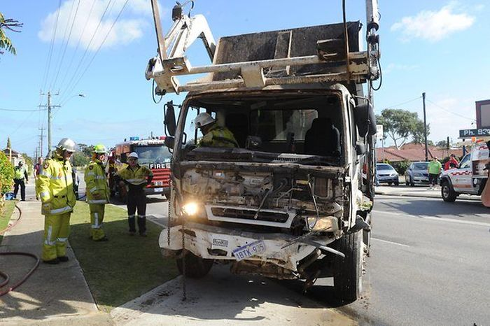 Garbage Truck Trashes House in Australia