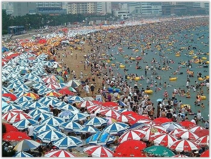 Beach in South Korea