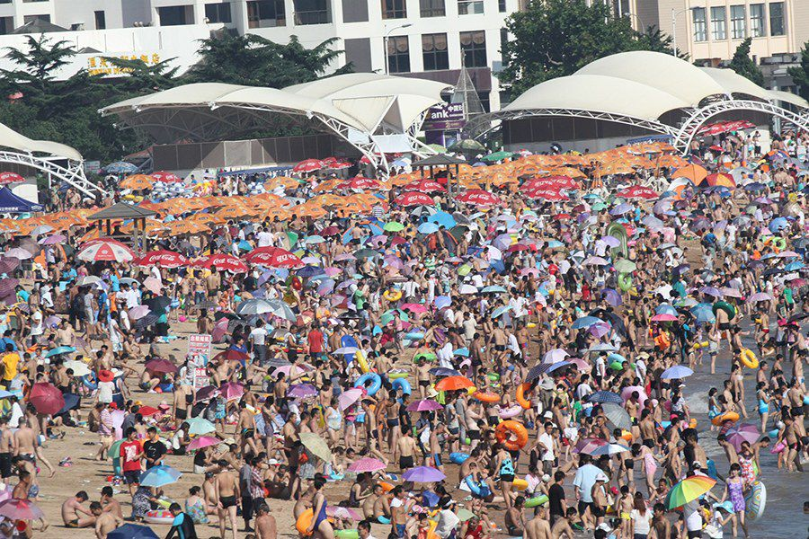 Hot Day on Chinese Beach