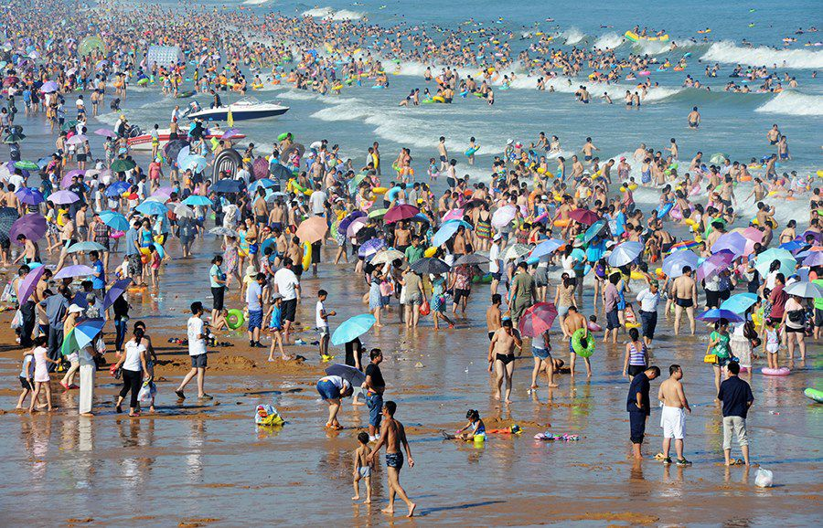 Hot Day On Chinese Beach Others