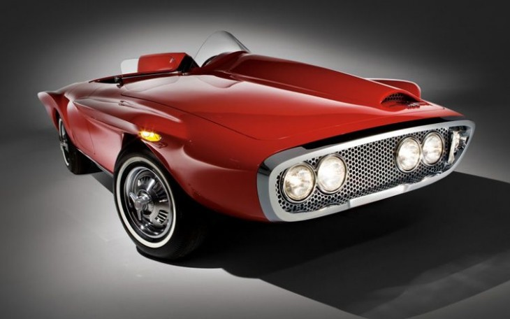 1960 Plymouth XNR concept car