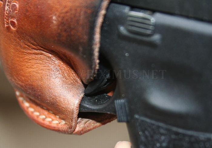 Gun Accidentally Discharges