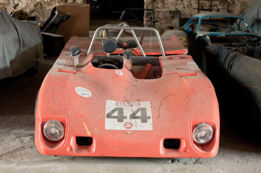 Vintage Racing Car Collection In A Small French Village Vehicles